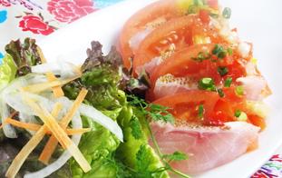 沖縄鮮魚のカルパッチョ ~カクテルソース~