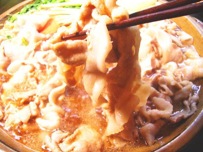 琉球でいご豚特製すきやきコース2
