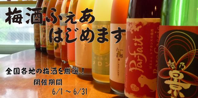 2014 梅酒ふぇあ